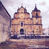 Iglesia de la Recolección León Nicaragua