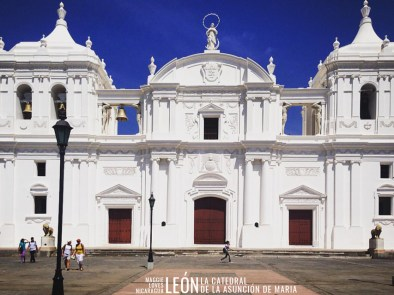 La Catedral León Nicaragua