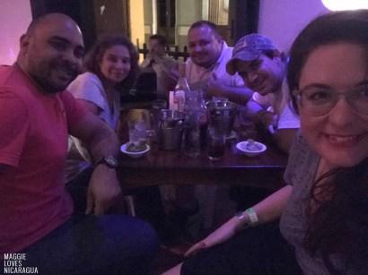 Salsanacht mit den Venezolanern