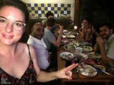 Ich, Carlos, Jamie, Mario, Rachel, Emma und Freddy