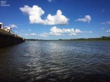 Fluss San Juan - 300 Meter breit 240 KM lang