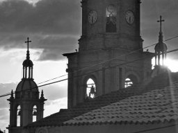 Our Lady of Guadalupe and rooftop