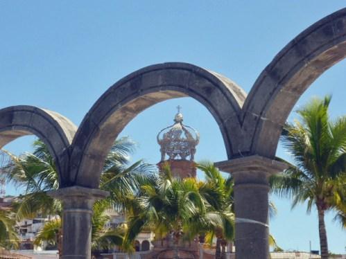 the arches in Puerto Vallarta, Mexico