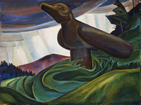 Emily Carr Big Raven, 1931 oil on canvas