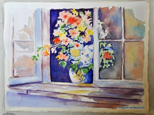 Vase in the window