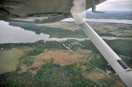 Over Balsam Lake Area