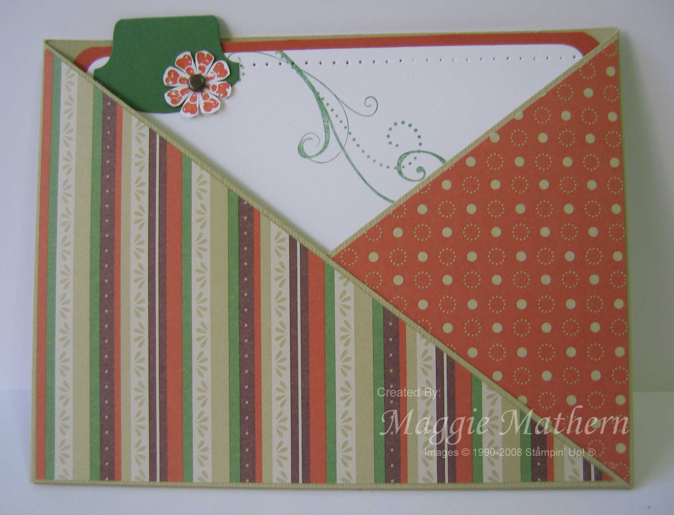 Apple Cider Criss Cross Card
