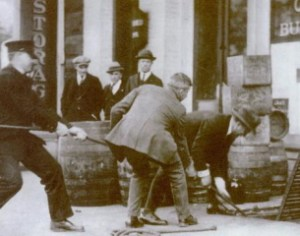 prohibition beer raid