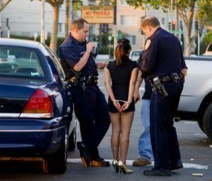 arrested streetwalker