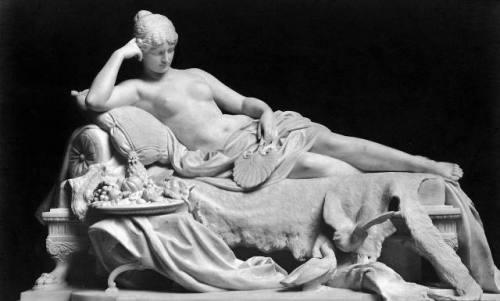 Aspasia reclining