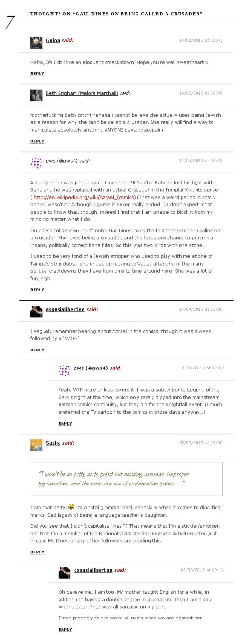 comments 2-13-13