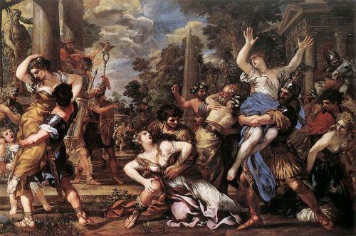 Rape of the Sabine Women by Pietro da Cortona (1628)