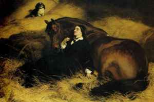The Shrew Tamed by Edwin Landseer (1861)