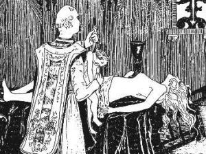Black Mass by Henry de Malvost (1895)