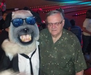 Arpaio on a date