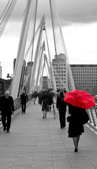 London red umbrella