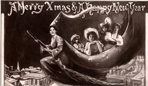 Christmas Witch 1907