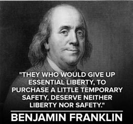 Ben Franklin Day We Fight Back