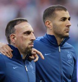 Franck-Ribery and Karim-Benzema