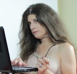 laptop nude