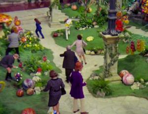 Willy Wonka chocolate room