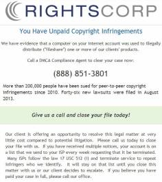 rightscorp threat