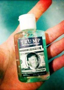 Trump hand sanitizer