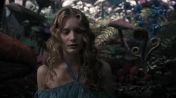 Alice In Wonderland (bizarre forests around)