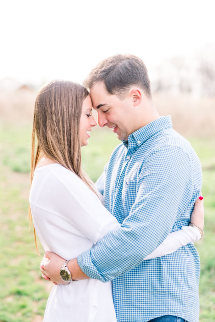 Charlotte Spring Engagement Session