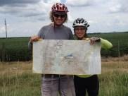 Crossing 15,000km ridden from Canada!!