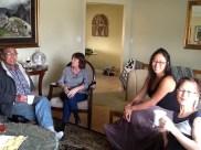 My dad, Bryan's aunt Myrna, me and my mom