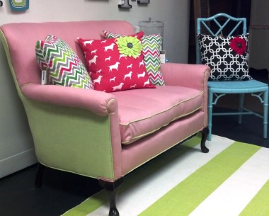 Premier Prints are great  for pillows to add pop of color.
