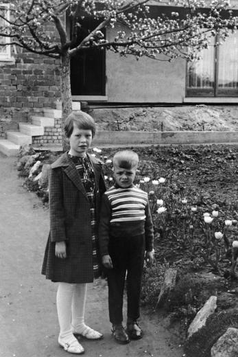 Uschi and Werner circa. 1962