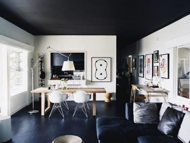 Black Ceilings from 47 Park Avenue