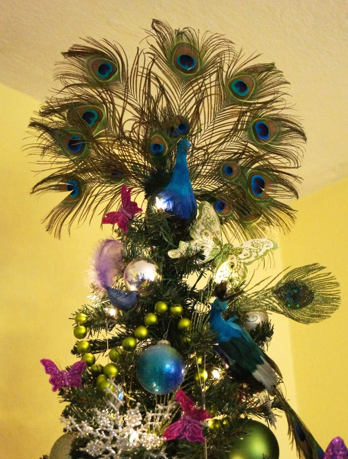 Proud Peacock Christmas