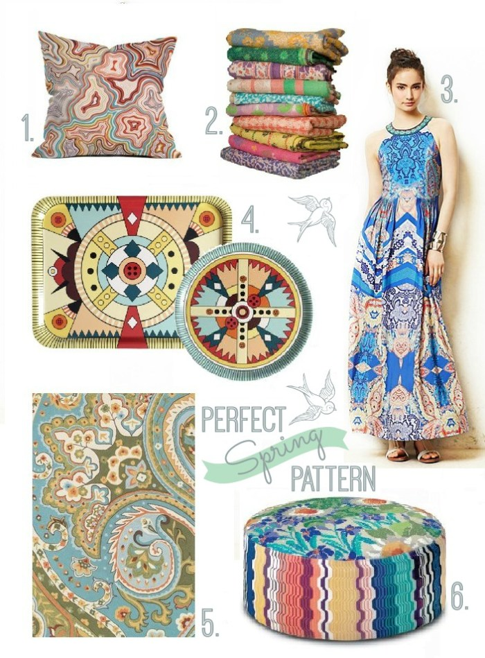 Perfect Patterns for Spring