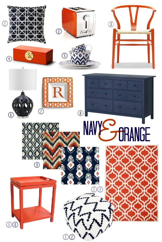 Navy and Orange 2