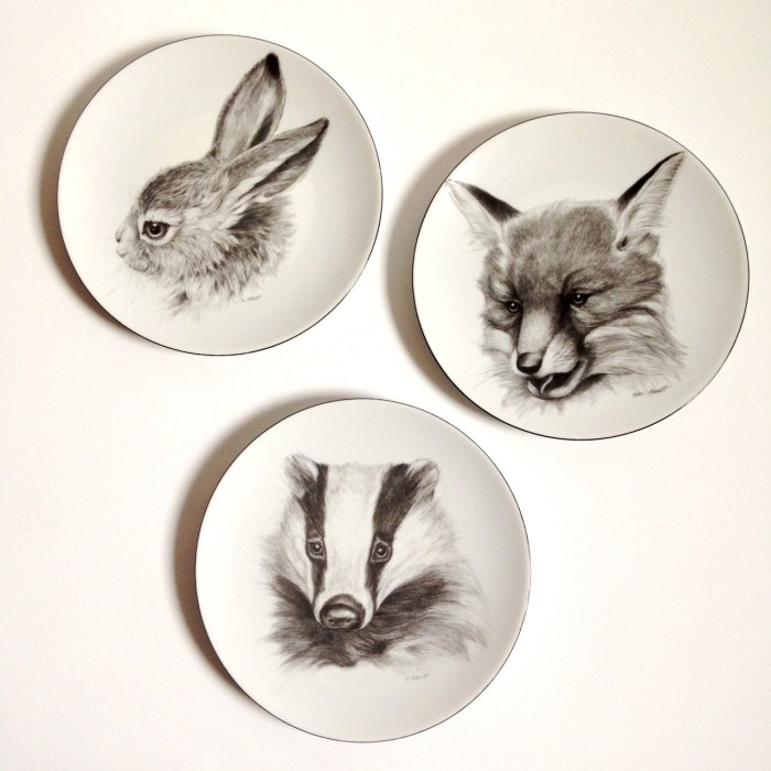 critter plates 8
