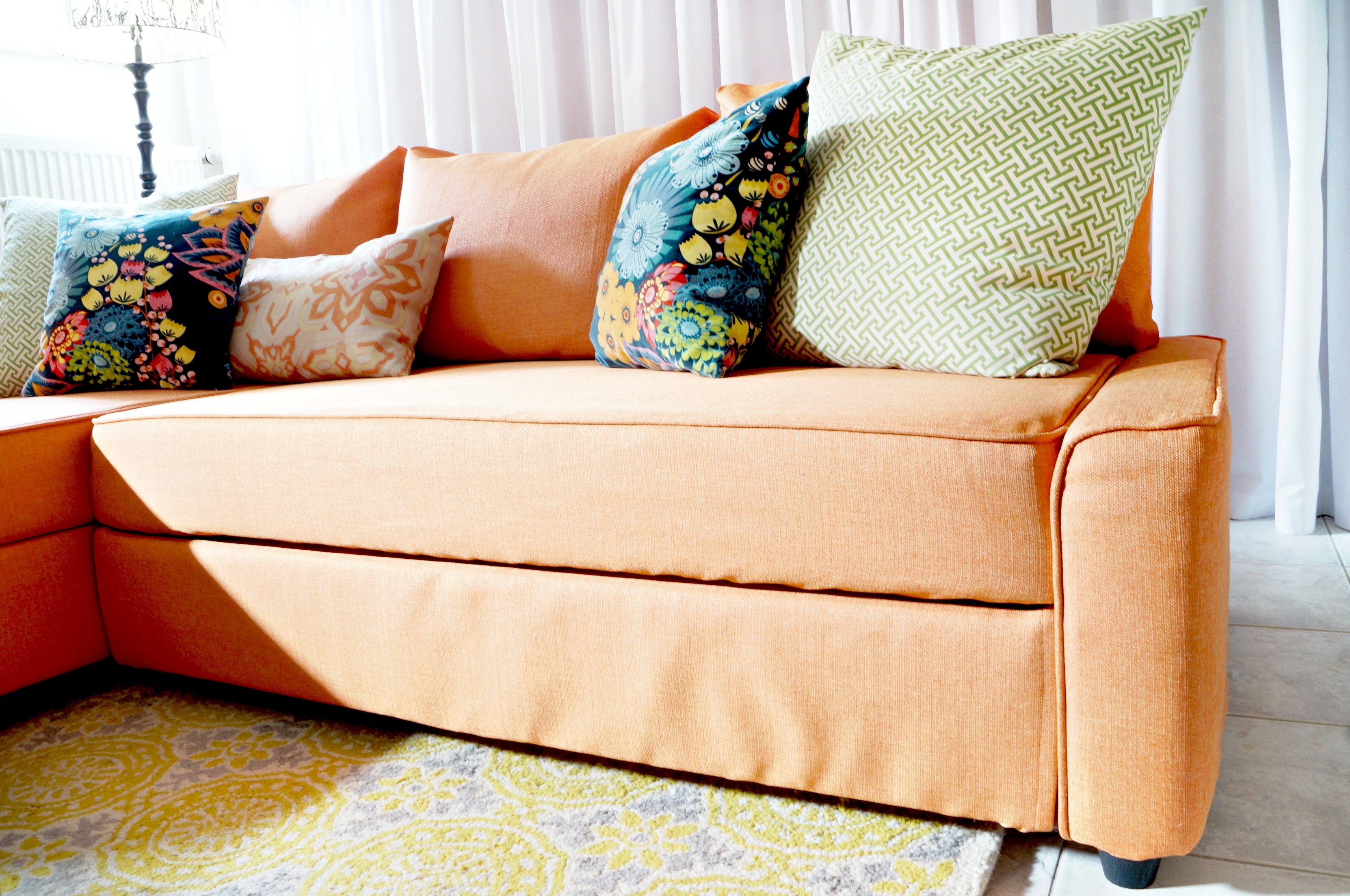Comfort Works Friheten Slipcover Review
