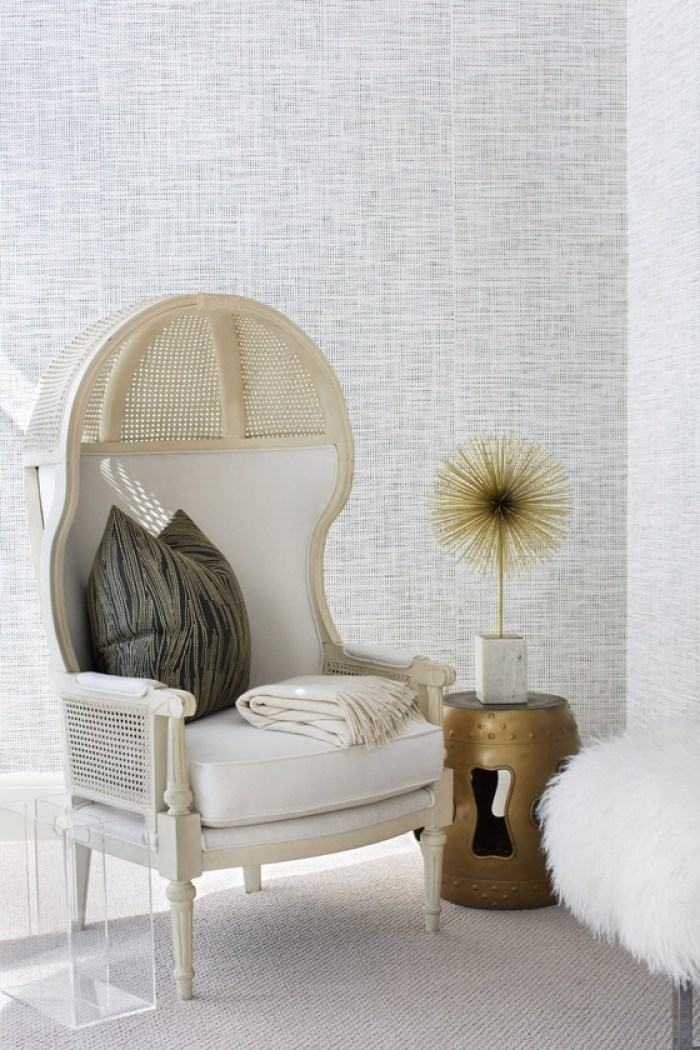 Lee-Kleinhelter-bedroom-black-white-caned-Porter-chair-sunburst