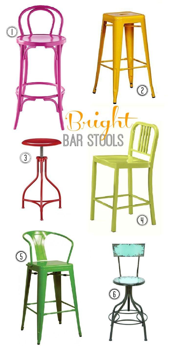 Bright Bar Stools