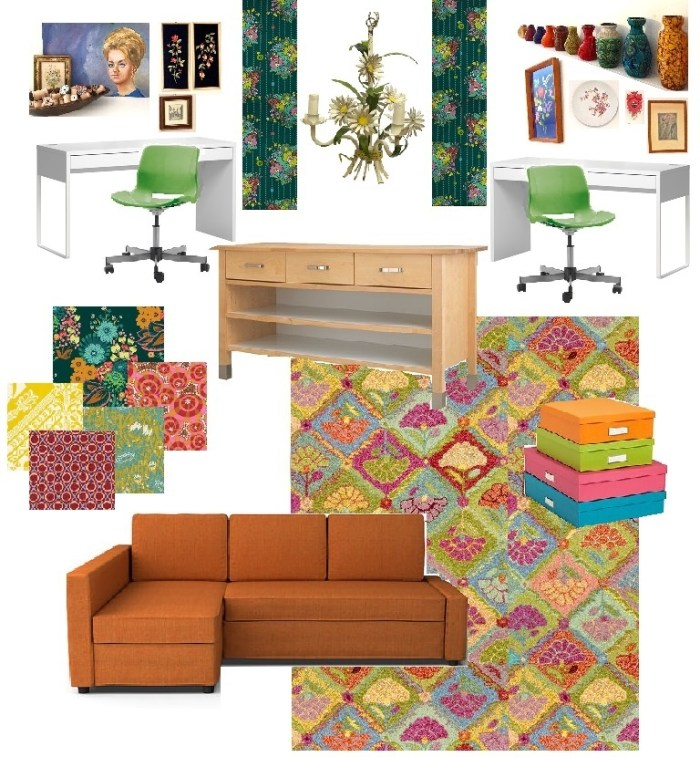 One Room Challenge – Week Two, The Sewing Room