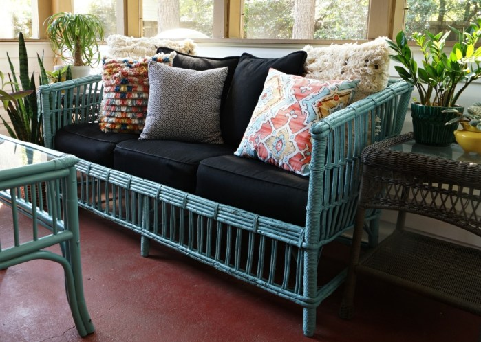 Vintage Wicker Gets a Makeover