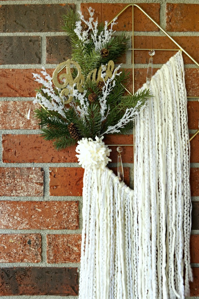 Holiday Wreath with a Bohemian Twist