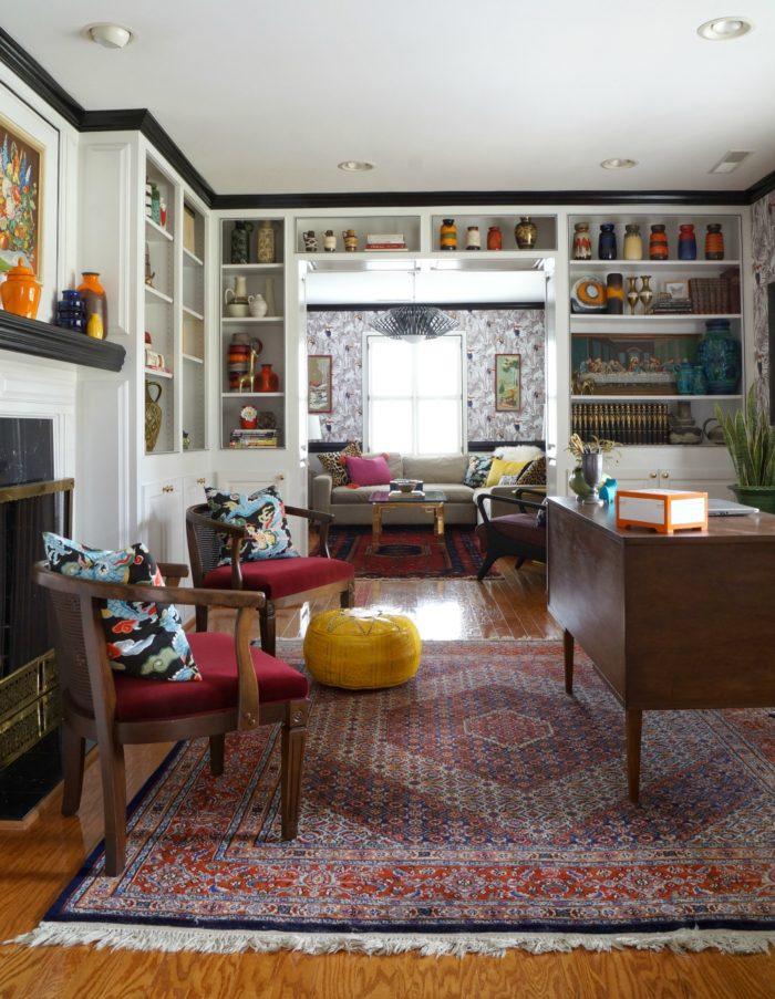 One Room Challenge Reveal u2013 Living