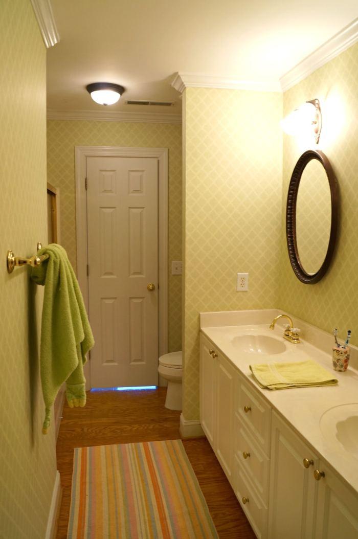 Week Bathroom Refresh Reveal - One week bathroom