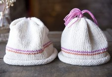 Maggie Pace's knit baby hat for beginners 3