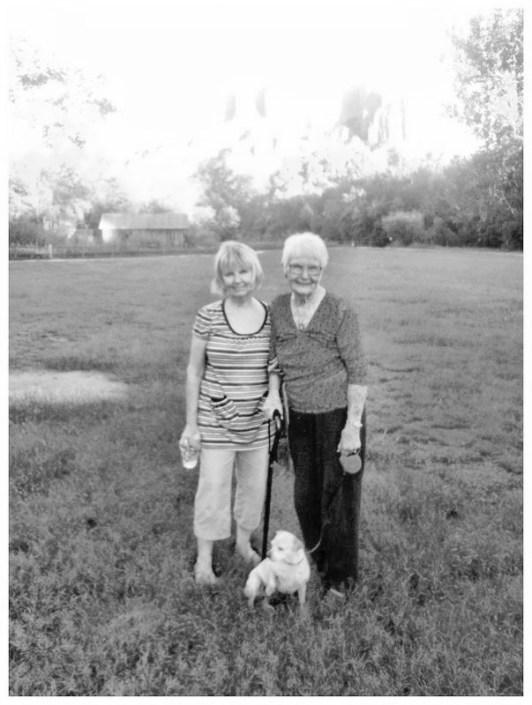 Mary and Irene at Sedona, AZ