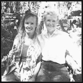 Diane and Irene on Cedar Mtn