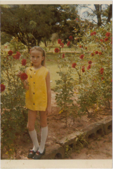 Maggie Ritchie as a young girl in Zambia - FREE TO USE UGC MSN
